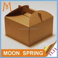 Yuyao mooonspring customized carton box,custom made boxes with handle