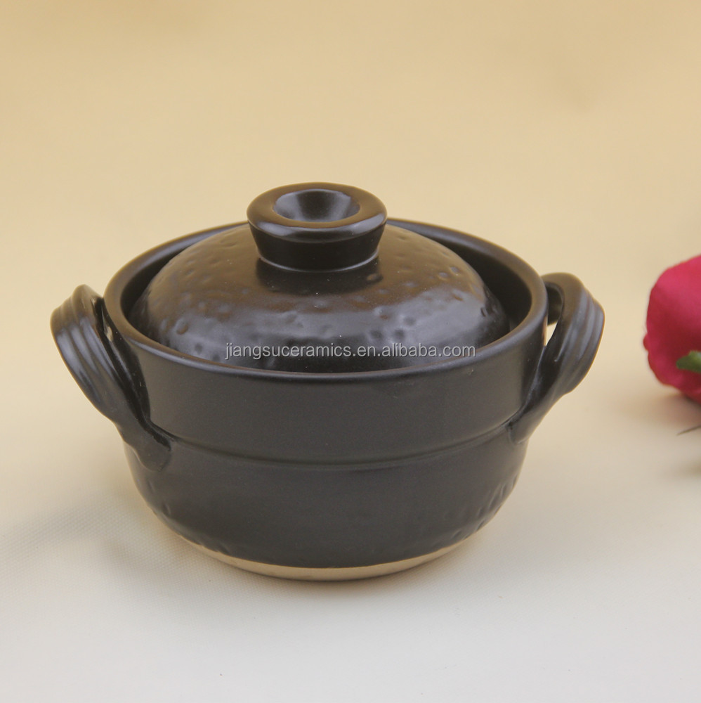 cookware made by heat resistant material sweet cute mini ceramic rice cooker
