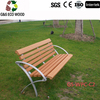 2016 hot sellings !! High quality restaurant outdoor WPC park bench garden chair