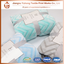 100% polyester,best seller printed comfortable blanket manufacturing machinery caved flannelfleece blanket