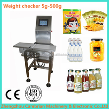 Chemical cosmetic industry weight checking machine CM-WC450