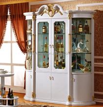 European New Classical Four Doors Wine Cabinet 3036#