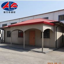 Strong Structural Panel Steel Cabin Prefab House With Good Design
