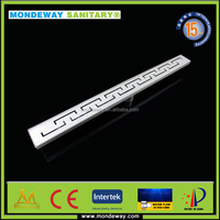 SS316 FOR FOR quartz shower base alibaba china stainless steel level threshold grates plastic channel drain WITH GOOD PRICES