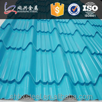 High Strength Decoration Metal Roof