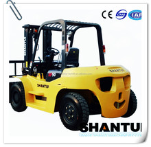 Advanced heavy 5 ton fork lifter with 6 tire
