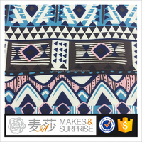 100% rayon twill printed 30*24 fashion garment fabric in stock