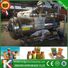 Horizontal autoclave rotary sterilizer pot industrial showering food retort