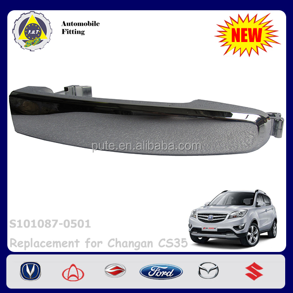 Car Accessories S101087-0501 Chrome Outer Door Handle for Changan CS35