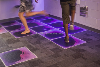 ROYLLENT Interactive Fluid Dance Floors liquid floor tiles