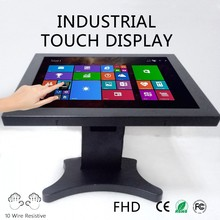 22'' Metal case open frame industrial touchscreen monitor