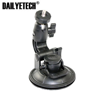 Swivel Windshield Digital camera car mount holder with 1/4 standard screw head adapter from dailyetech