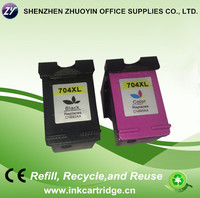 compatible for hp 704 ink cartridge ( CN692AA/CN693AA)