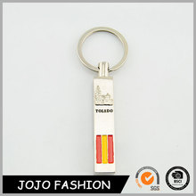 2015 Trend Souvenir Engraved Name Metal Keychain