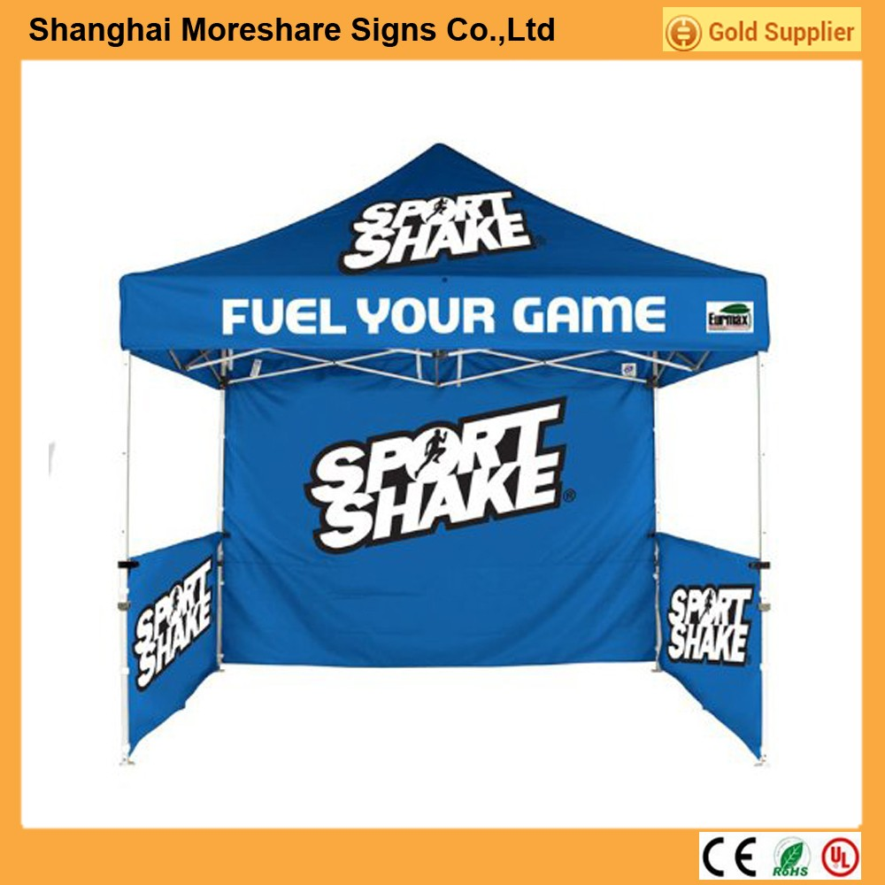 2016 Customized logo printing outdoor event show 3*3m folding tent canopy
