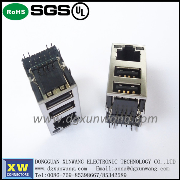 cheapest laptop internal connector in china rj45 connector