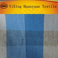 100%cotton woven yarn dyed shirting Fil-a-Fil fabric with special finishing