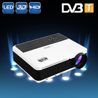 2600 Lumens LED Multimedia Home Theater Projector with USB/AV/HDMI/VGA Interface projector