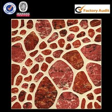 Wear-Resistant 300x300 bright red ceramic floor tiles