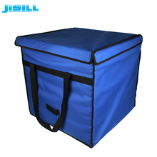Custom VIPs vacuum insulated panel cooler box with ice packs for blood transportation