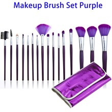 Online Shopping Synthetic Makeup Brushes Free Sample, Beauty Makeup Sets 16 Pcs