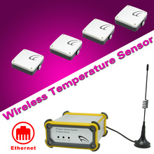 Wireless Temperature Sensor pos system thermostat remote internet data logger