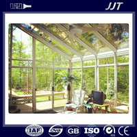 decorative surfaces 6063 series aluminum sunrooms profile