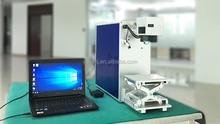 Portable Mini Cnc Fiber Laser Marking Machine For Metal Engraving lcd repair use