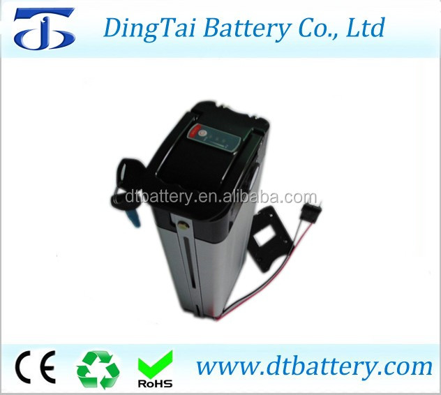 silver fish type 36v 14ah lithium ion battery pack 36v 14ah electric bike battery