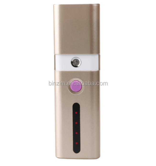 USB power face cleaning mini nano mist facial steamer