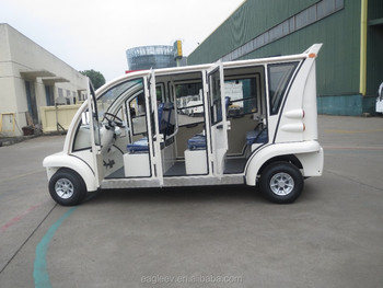 Airport electric car with closed doors, 6 seats, EG6063KBF