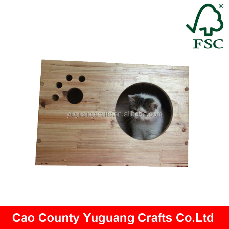 Yuguang Crafts Top Quality Pet Products Wooden Cat House