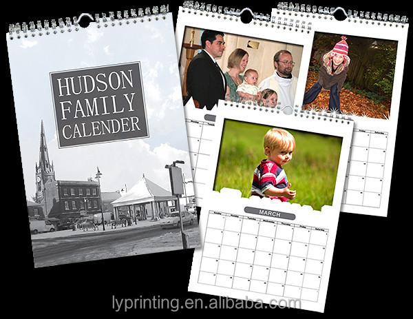 2016 Customized Promotional Custom Wall Planner Calendars