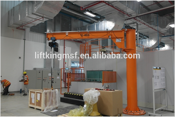 Best selling high quality liftking brand rotational Jib crane for sale