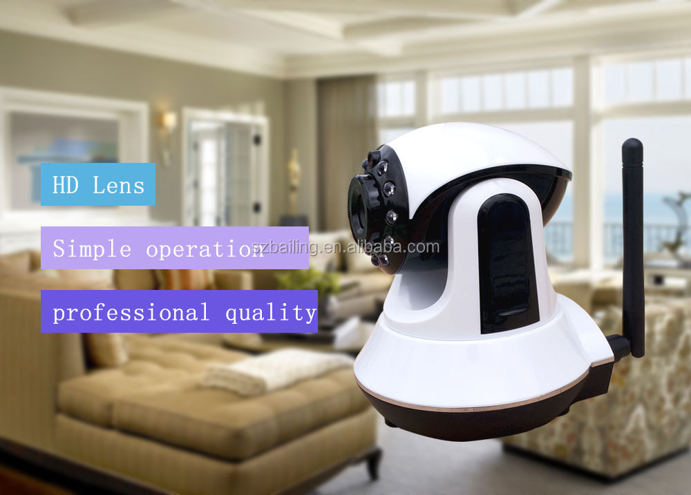 Cmos P2P WIFI IP camera home IOS support TCP/IP/WIFI network Remote control by IOS/Android APP/PC