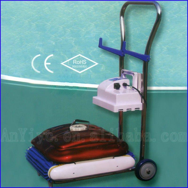 Novo design limpador autom tico limpador de piscina for Piscina portatil