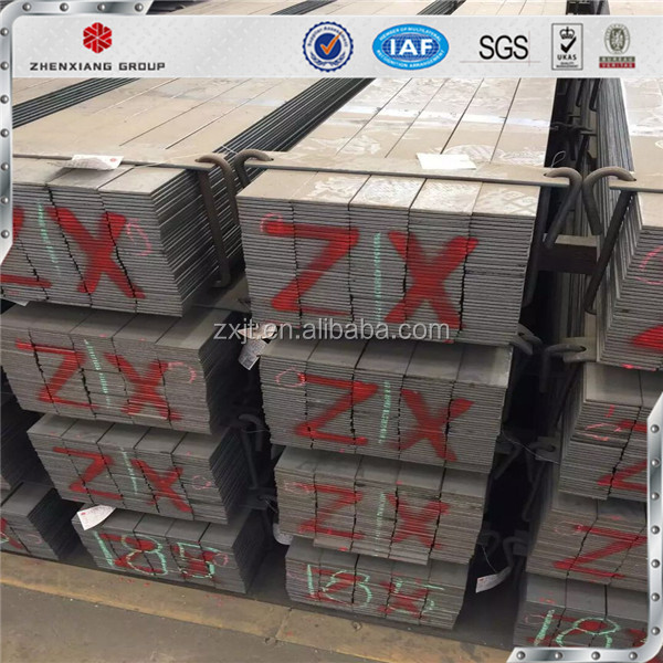 q235 high tensile strength hot rolled mild Iron steel flat bar price