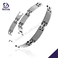 costume jewelry wholesale stainless steel bracelet pedometer