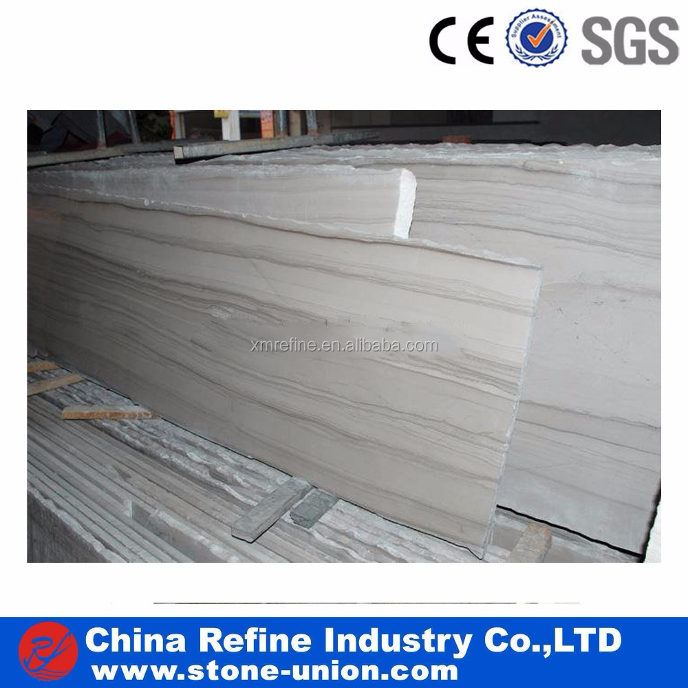 High Grade Polished Cheap Wooden Athens Marble