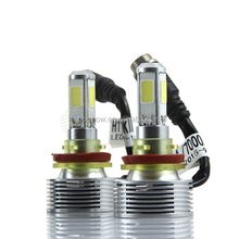 2016 new products H8/H9/H11 bulb 64w 7000K 3200LM auto LED Apart MINI Headlight KIT with driver