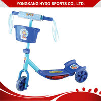 New style widely use kids pedal kick scooter
