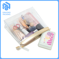 transparent pvc zipper bags/Plastic pvc toiletry bags