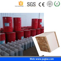 one component polyurethane construction adhesive heat resistant glue for OSB board