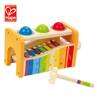 Lovely wooden musical instrument keyboard toy piano