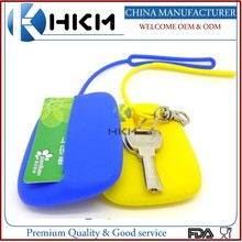 Alibaba express very useful silicone key case bag,key holder,card cover