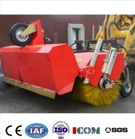Road construction machinery ZMQS-1800 Tractor mounted road sweeper