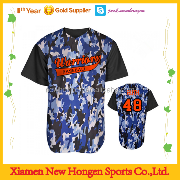 wholesale custom baseball shirt