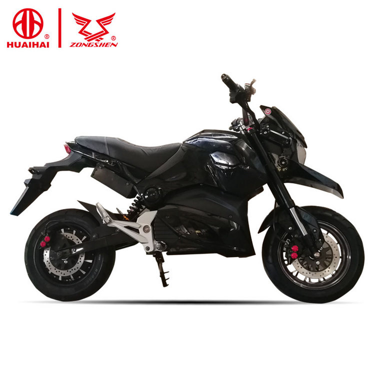 high speed full size best fast cheap adult electric motorcycle for sale sports 72v1500w zongshen china