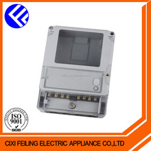 DDSF-2034-3 Single phase transparent case smart electric meter enclosure