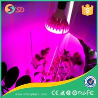 LED Grow Light 18W Plant Grow Lights E27 Growing Bulbs For Garden Greenhouse and Hydroponic Full Spectrum Growing Lamps